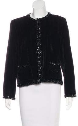 Chanel Paris-Edinburgh Velvet Jacket