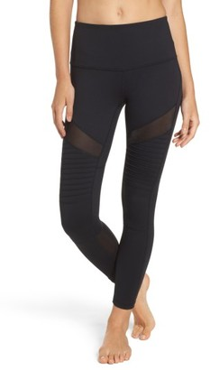 Women's Zella Autumn High Waist Moto Ankle Leggings $75 thestylecure.com