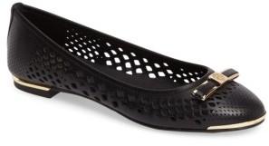 Women's Vince Camuto 'Celindan' Cutout Ballet Flat $97.95 thestylecure.com