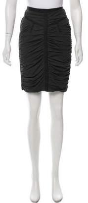 Dolce & Gabbana Ruched Mini Skirt