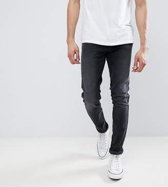 Farah TALL Drake Slim Fit Jeans in Charcoal