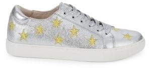 Kenneth Cole Kam Star Leather Sneakers