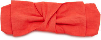 DONNI. Exclusive Linen Bow Headband