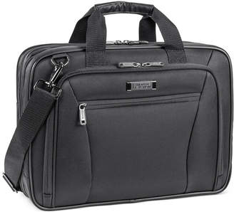 "Kenneth Cole Reaction Every Port of Me"" Double Gusset Ez Scan Laptop Portfolio"