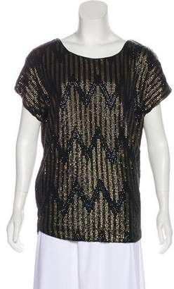 Joe's Jeans Sequined Chevron Top w/ Tags
