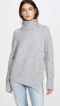 3.1 Phillip Lim Fringe Overlap Sweater