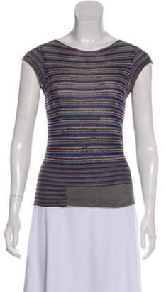 Dries Van Noten Sleeveless Knit Top Multicolor Sleeveless Knit Top