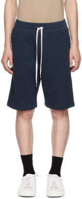John Elliott Blue Sweat Shorts