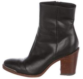 Celine Round-Toe Ankle Boots