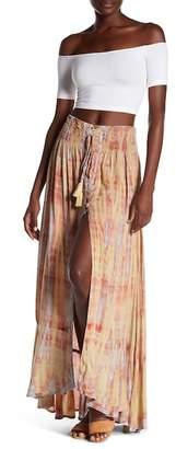 Tiare Hawaii Dakota Tassel Drawstring Skirt