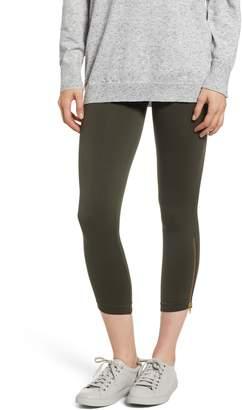 Spanx R) Look at Me Now Seamless Side Zip Leggings