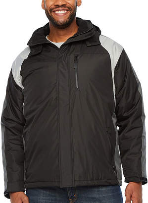 Victory Hooded Mens Heavyweight Ski Jacket Tall