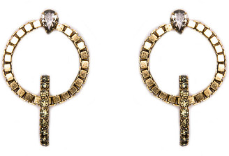 One Kings Lane Gold Trento Earrings