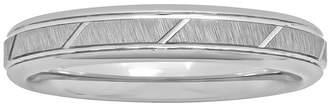 MODERN BRIDE Womens 4mm Tungsten Ring