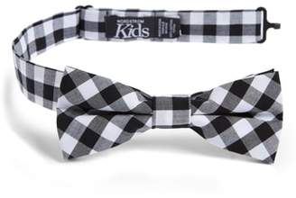 Nordstrom Check Cotton Bow Tie