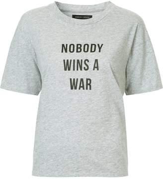 Nobody Denim Nobody Wins A War Tee Sterling