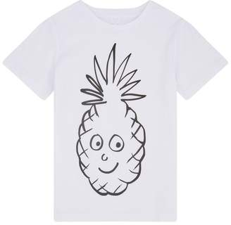 Stella McCartney Pineapple Badge T-Shirt