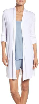 Barefoot Dreams Luxe Ribbed Jersey Cardigan