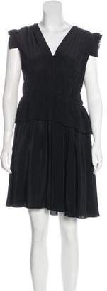 Miu Miu Silk Pleated Dress w/ Tags