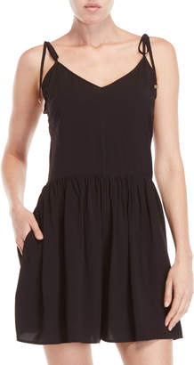 Kate Spade Shirred Bottom Cover-Up Romper