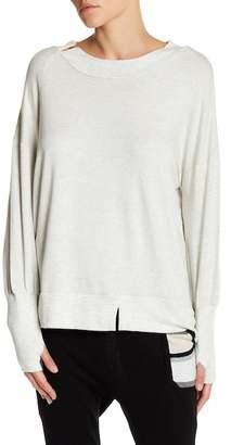 Thomas Wylde Dolman Sleeve Wink Sweater