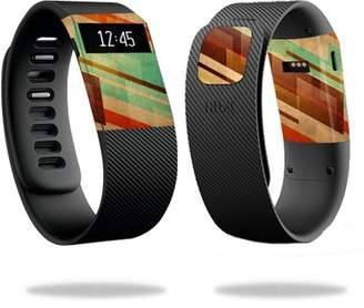 Fitbit Mightyskins MightySkins Protective Vinyl Skin Decal for Charge Watch cover wrap sticker skins Abstract Wood