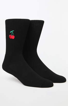 Cherries Crew Socks