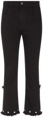 Citizens of Humanity Drew Studded Cropped Flare Jeans