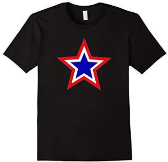Red and Blue Stars T-shirt