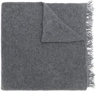Danielapi fringed edge scarf