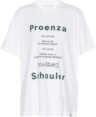 Proenza Schouler PSWL Care Label cotton T-shirt