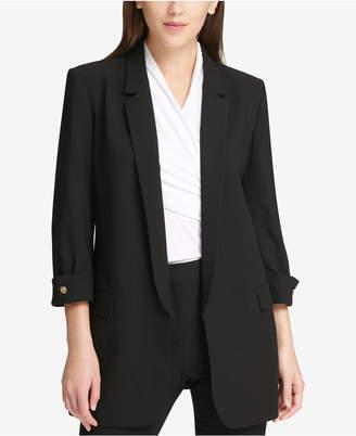 DKNY 3/4-Sleeve Blazer
