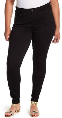 Wilson Rebel X Angels The Pin Up Mid Rise Skinny Jeans (Plus Size)