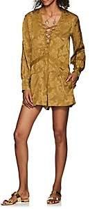 IRO Women's Galt Paisley Silk Romper Size 34