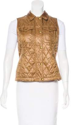 Ralph Lauren Quilted Button-Up Vest