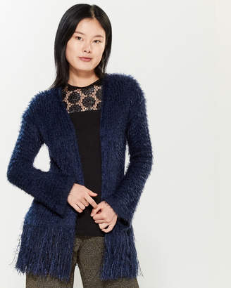 Save the Queen Fringed Bell Sleeve Cardigan