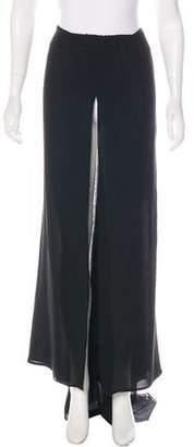 Armani Collezioni Silk Maxi Skirt