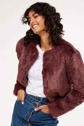 Cotton On Faux Fur Jacket