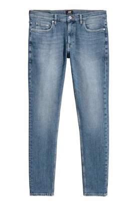 H&M Super Skinny Jeans - Denim blue - Men