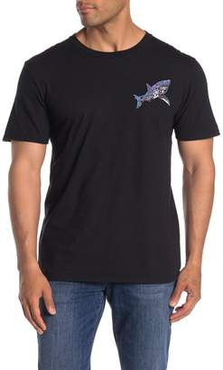 Riot Society Ornate Shark Print Crew Neck T-Shirt