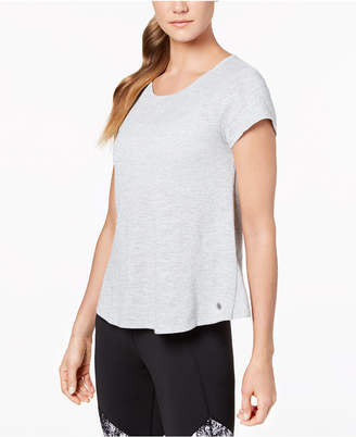 Calvin Klein Overlapping-Back T-Shirt