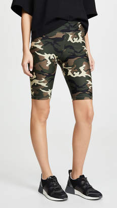 The Upside Camo Spin Shorts