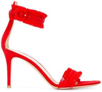 Gianvito Rossi frayed sandals