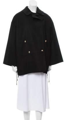 Pascal Millet Leather Short Coat