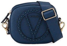 Mario Valentino Valentino By Nina Rock Dollaro Studded Crossbody Bag