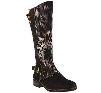 Spring Step L'Artiste by Leather and Textile Boots - Blades
