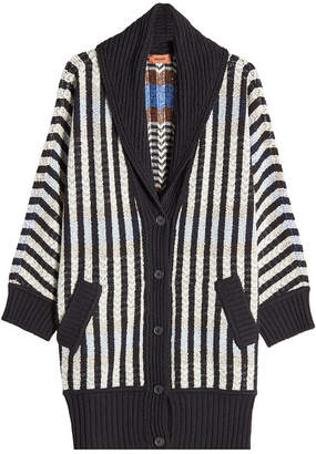 Missoni Wool Cardigan with Cashmere