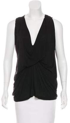 Riller & Fount Sleeveless Knotted Top