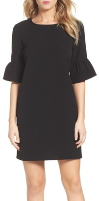 Women's Charles Henry Bell Sleeve Shift Dress $79 thestylecure.com