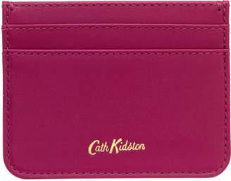 Cath Kidston Plum Leather Card Holder